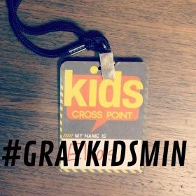 Broken Kids Volunteer name tag